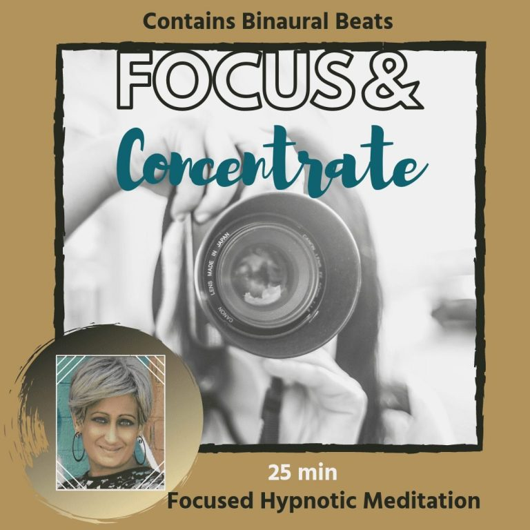 Hypnotherapy for Focus and Concentration