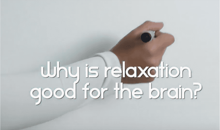 why is relaxation good